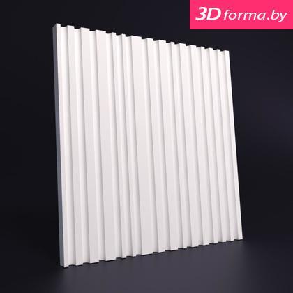 """NEW форма для 3D панелей """"Рейка тикс"""""""
