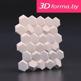 Форма для 3d панелей «Рози»