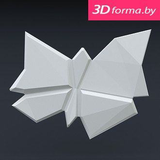 """Форма для 3D панелей """"Бабочка"""""""