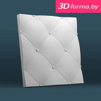 Форма для 3d панелей «Кожа крупная»