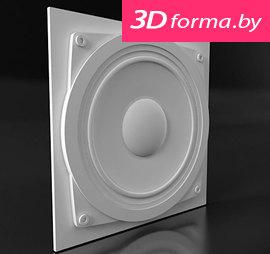 """Форма для 3D панелей """"Ауди"""""""