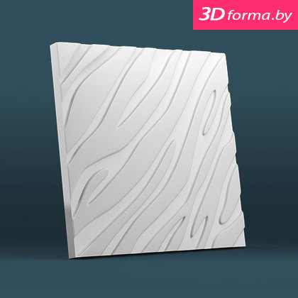 Форма для 3d панелей «Золотая зебра»