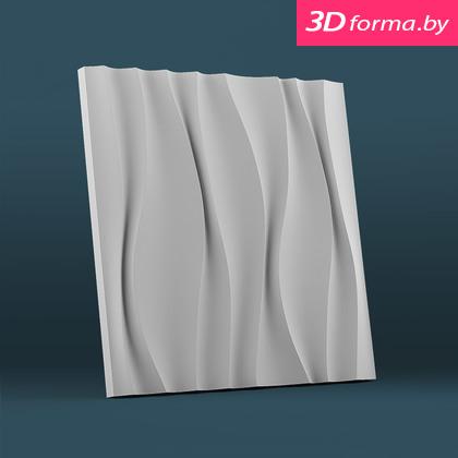 Форма для 3d панелей «Водопад»