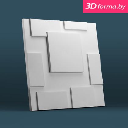 Форма для 3d панелей «Квадраты»