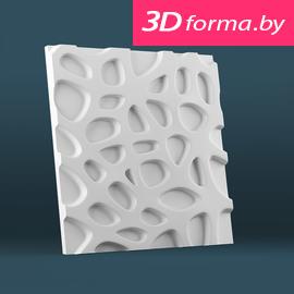 Форма для 3d панелей «Кратер»