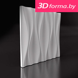 "Форма для 3D панелей ""Кувин"""