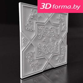 """Форма для 3D панелей """"Звезда"""""""