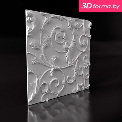 """Форма для 3D панелей """"Лилия"""""""