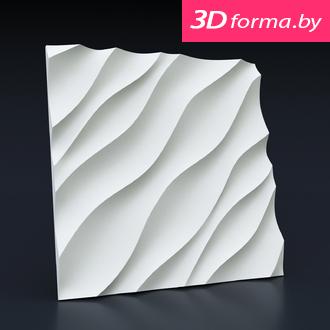 "NEW форма для 3D панелей ""Оазис"""
