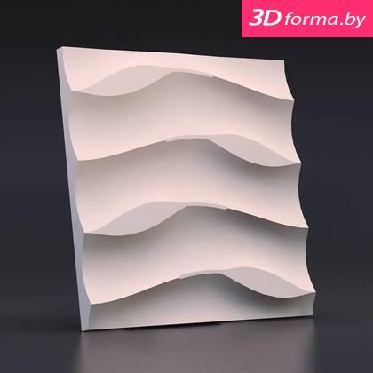 Форма для 3d панелей «Листья на песке»
