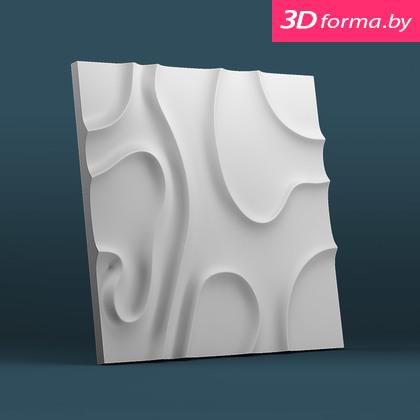 Форма для 3d панелей «Разводы»