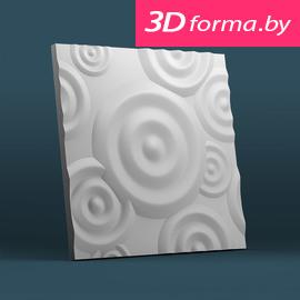 Форма для 3d панелей «Круги»