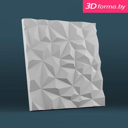 Форма для 3d панелей «Скалы»