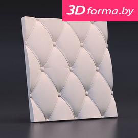 Форма для 3d панелей «Кожа вытянутая»