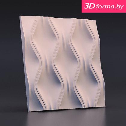 Форма для 3d панелей «Текущий песок»