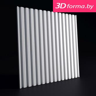 "NEW форма для 3D панелей ""Рейка"""