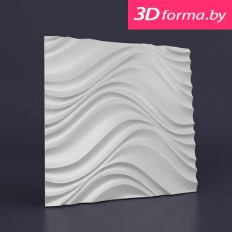NEW форма для 3D панелей «Ведж»