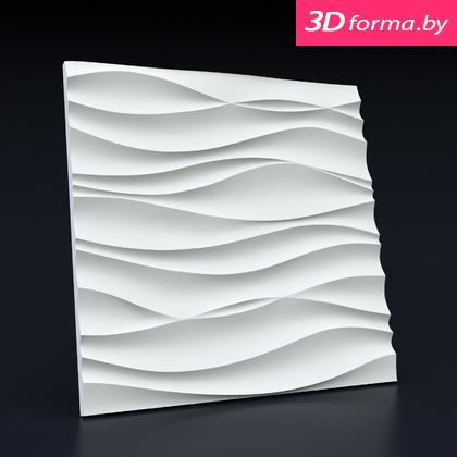 Форма для 3d панелей «Волна Аравийская»
